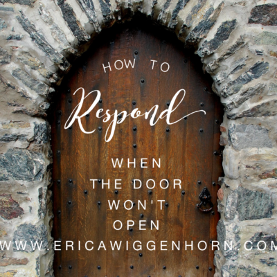 The Unexplainable Church, How to Respond when the Door Won't Open
