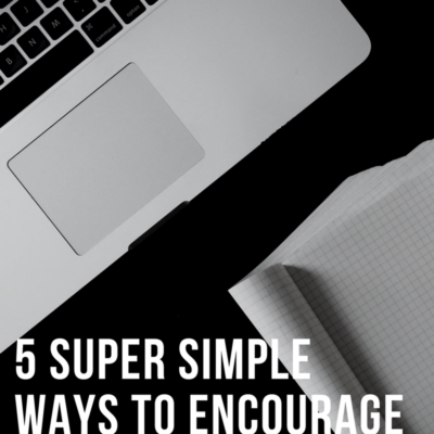5 Super Simple Ways to Encourage Your Pastor