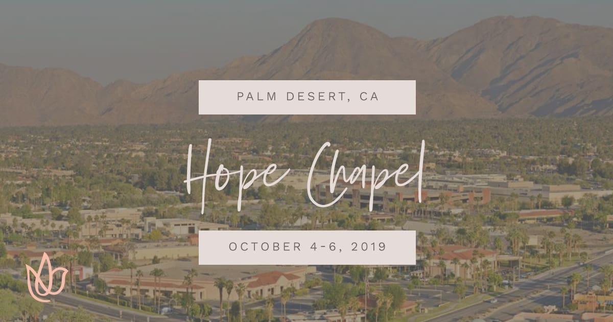 Hope Chapel Women's Retreat Social Sharing Image