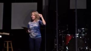 Screen capture of Erica Wiggenhorn Moses Teaching Series