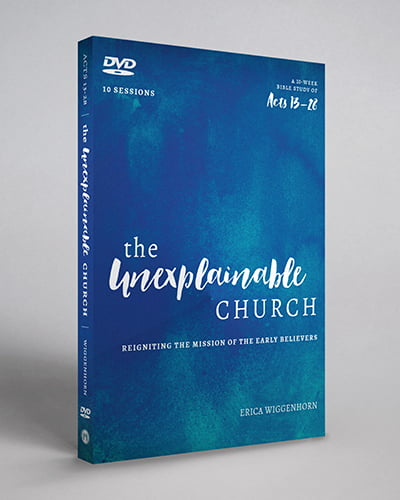 DVD Series Mockup for The Unexplainable Church Video Teaching Series