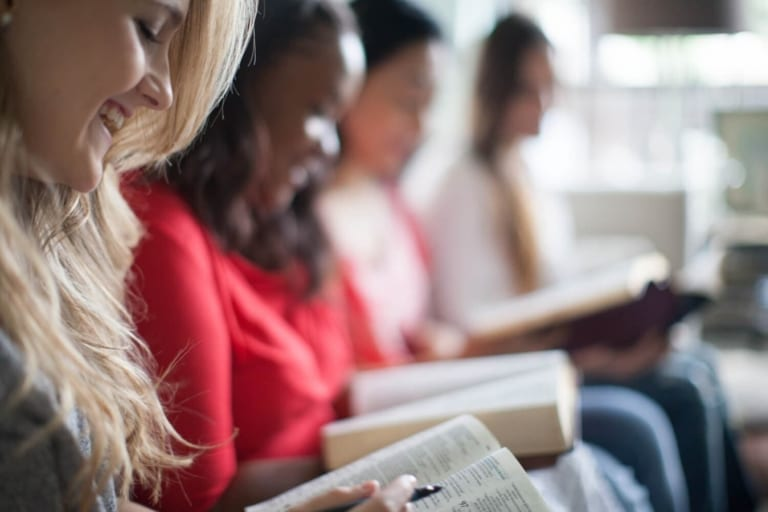 Bible Study Background Image
