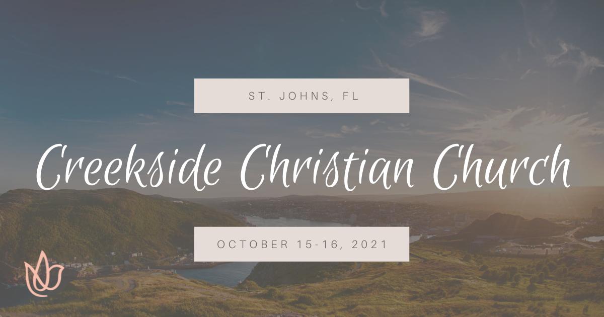 St. Johns, FL — Creekside Christian Church, Erica Wiggenhorn Womens Speaker