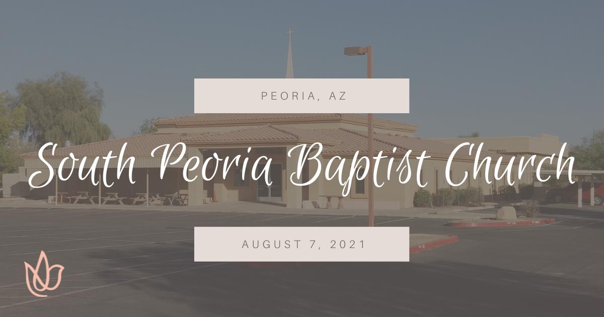 Peoria, AZ — South Peoria Baptist Church, Erica Wiggenhorn
