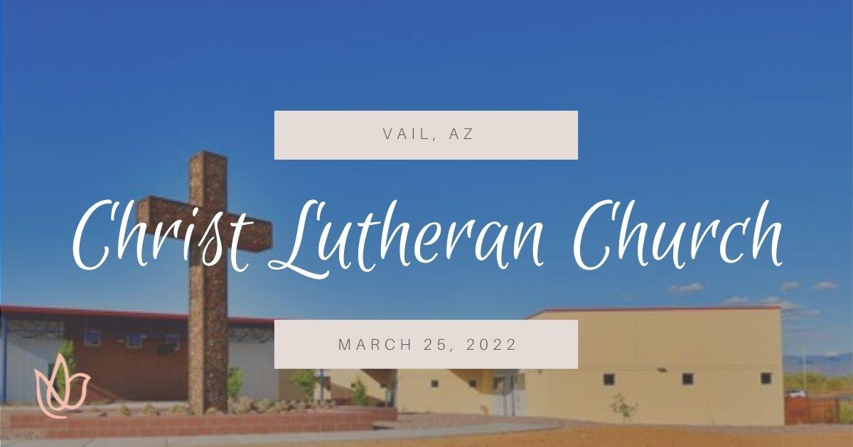 Christ Lutheran Church, Vail AZ