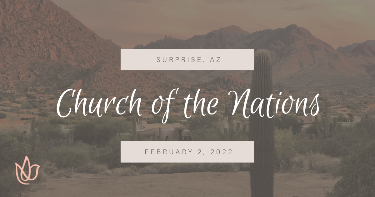 Church of the Nations, Surprise Arizona